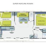Plan-mobil-home-confort-2-chambres-saint-jean-de-monts-Le-Tropicana