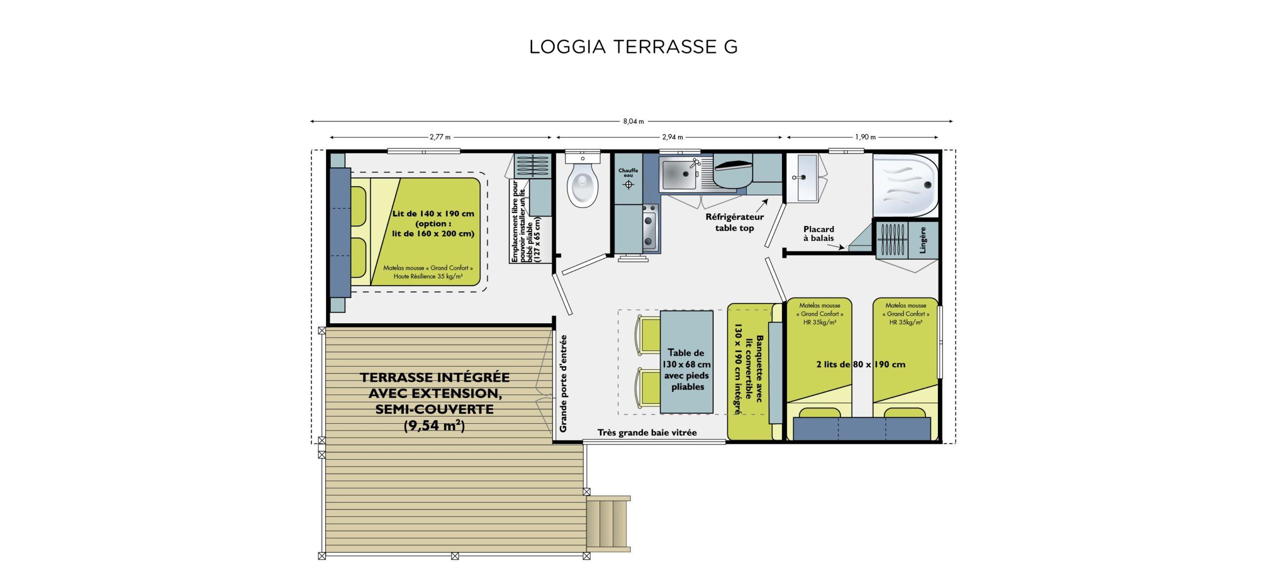 Plan-mobil-home-cottage-loisirs-terrasse-semi-couverte-Le-Tropicana