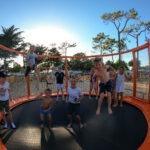 camping 5 étoiles saint jean de monts avec trampoline Le Tropicana