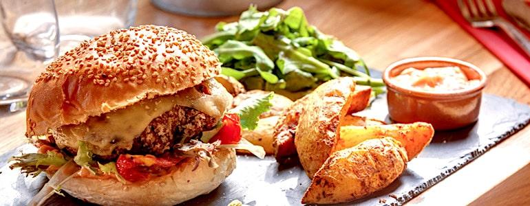 camping 5 étoiles saint jean de monts restaurant burgers maison Le Tropicana