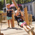 camping saint jean de monts avec aire de jeux Le Tropicana
