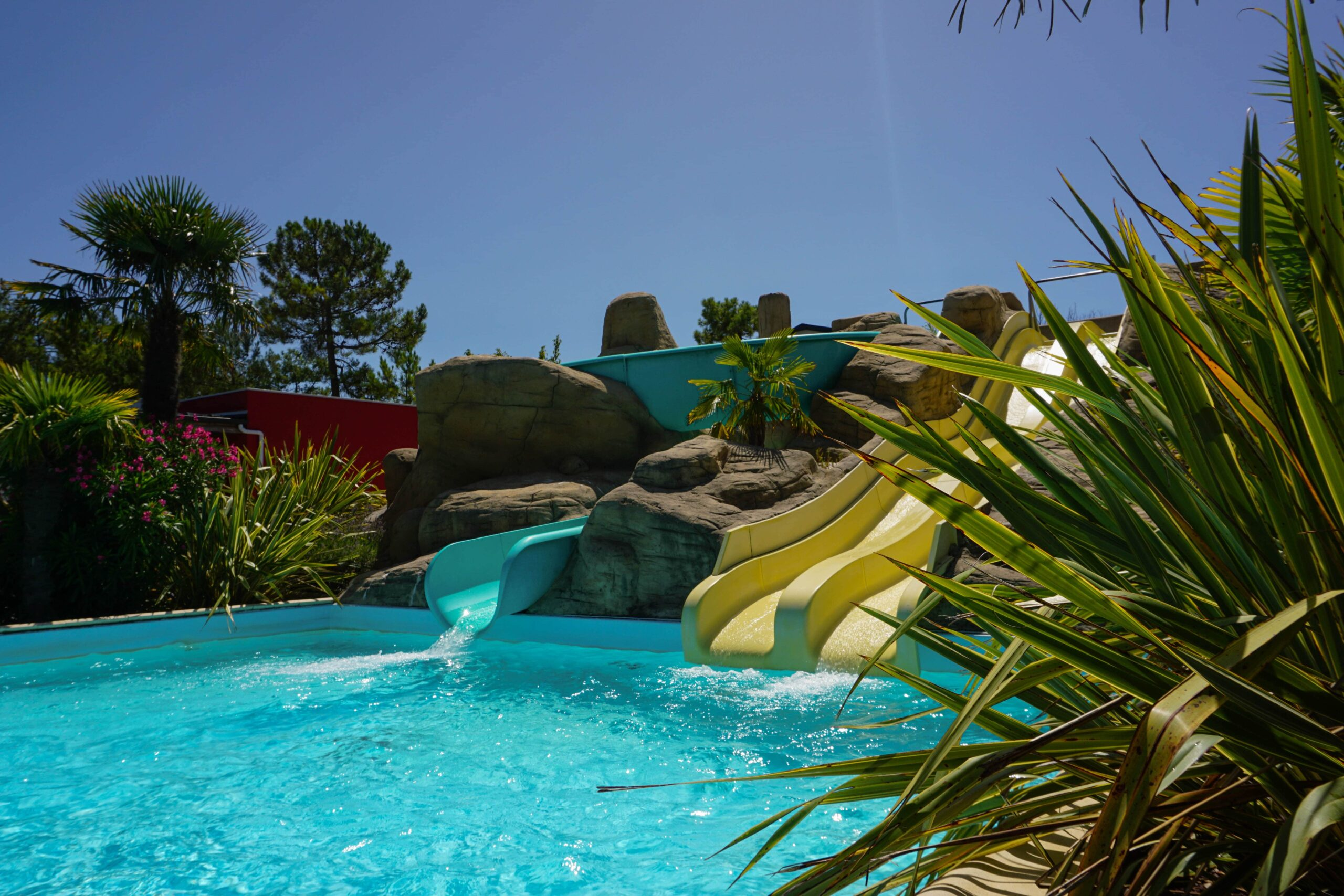 Vendée holiday with Le Tropicana water slide